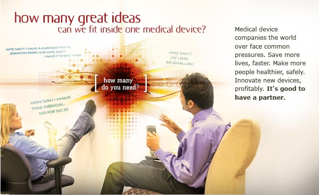 How many great ideas can we fit inside one medical device?